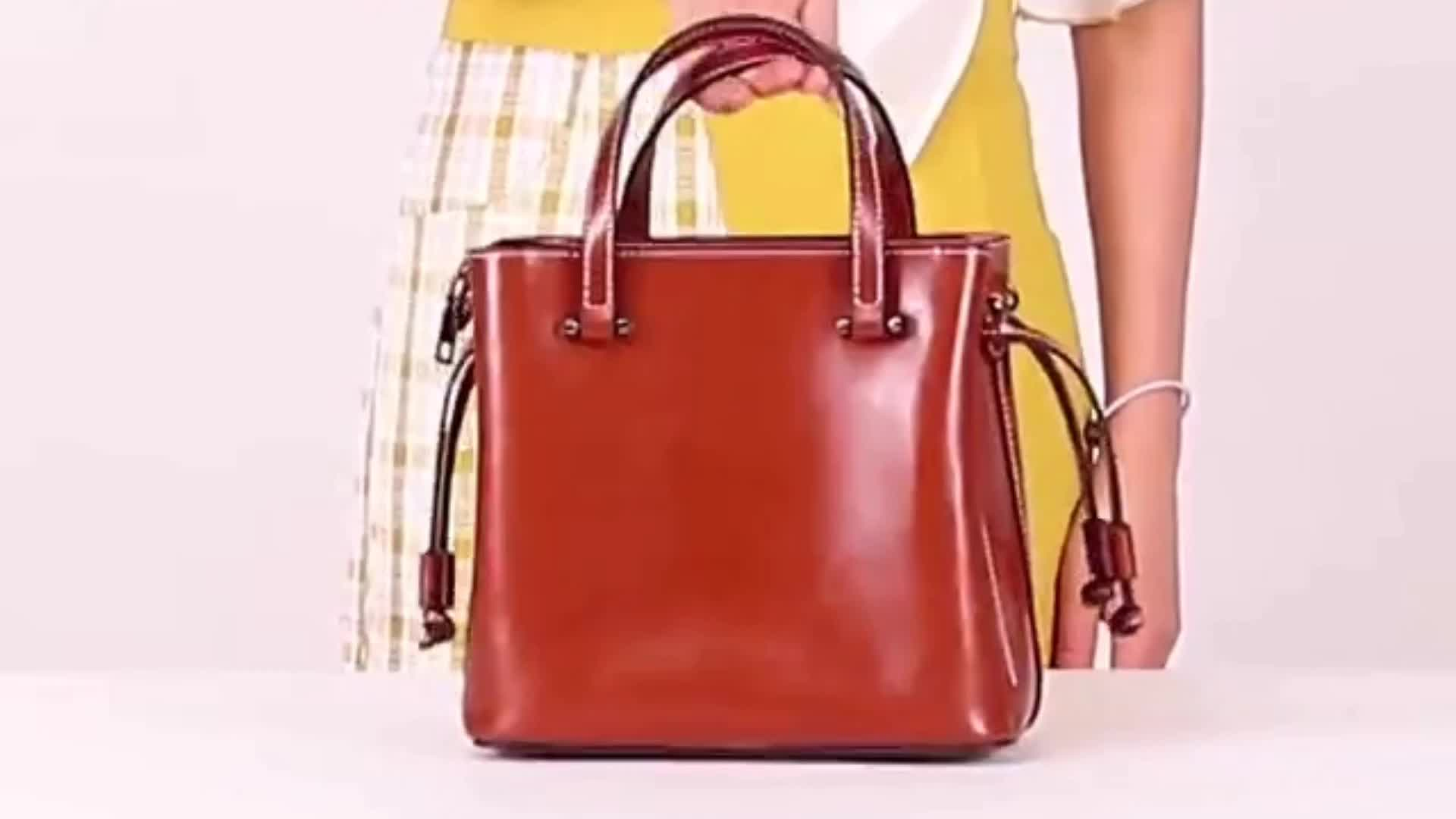 JUNYUAN 2019 New Tote Fashion Handbag Genuine Leather Bags Women Handbags For Lady