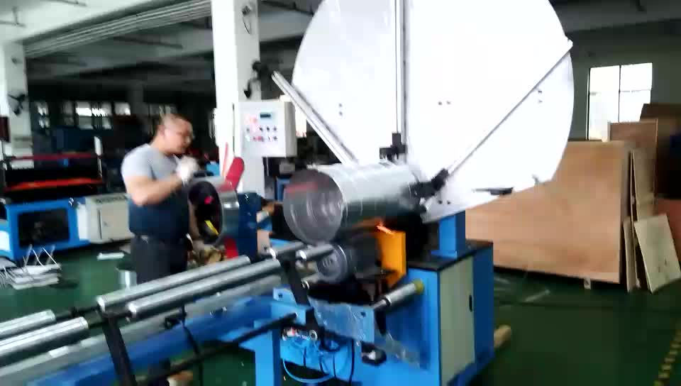 HVAC Galvanized Metal Round Spiral Air Duct  Making Machine Fabrication for Sale
