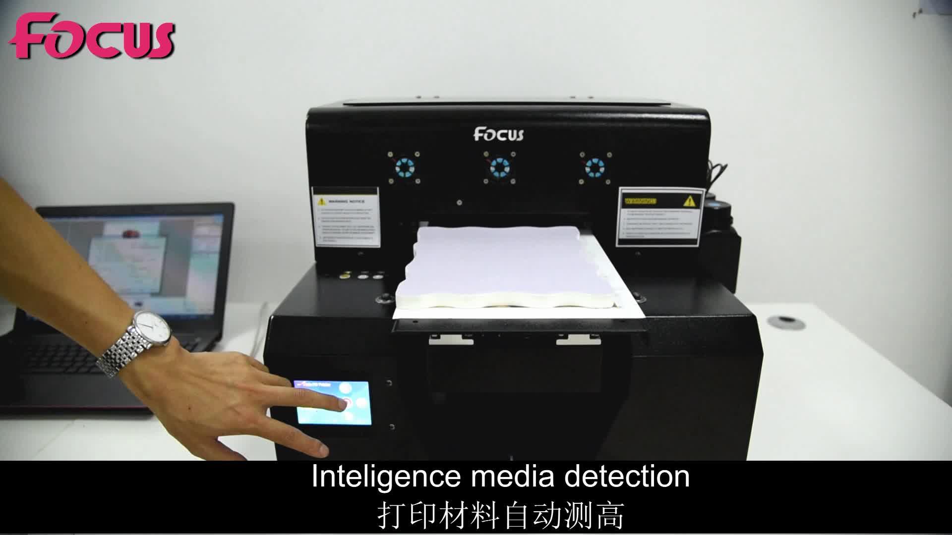 Sapphire jet x mini custom digital flatbed led uv small eco solvent printer 3d small label