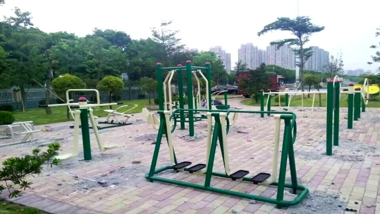 Mesin Latihan Jalan Udara Harga Murah, Peralatan Olahraga Luar Ruangan Internasional Digunakan Taman Peralatan Fitness Luar Ruangan