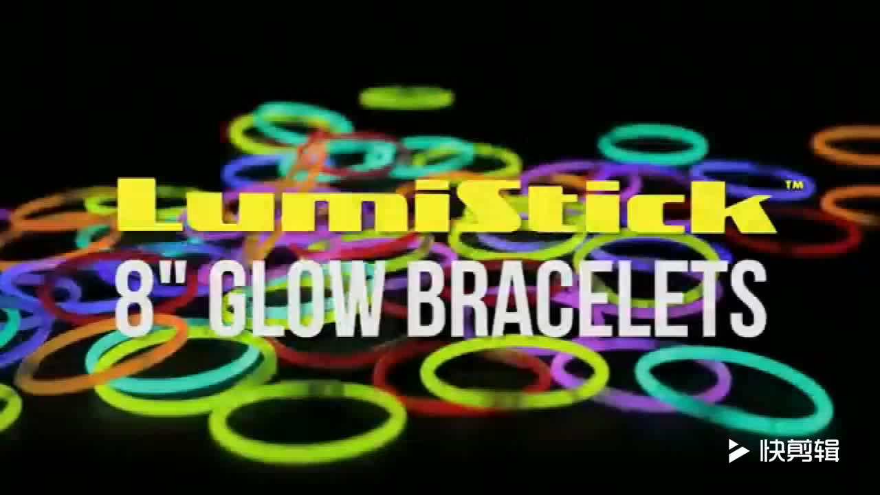 factory price party favor multi colored glow stick necklace