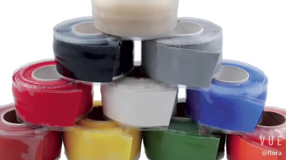 silicone self-fusing tape CLEAR TANSPAENT silicone tape 1 inch x 36 feet