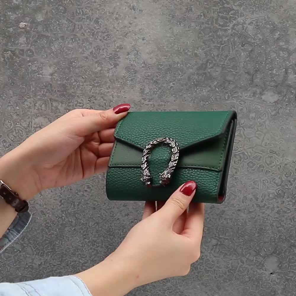 2019 Wholesale Luxury Ladies Coin Purse Short Wallet For Women