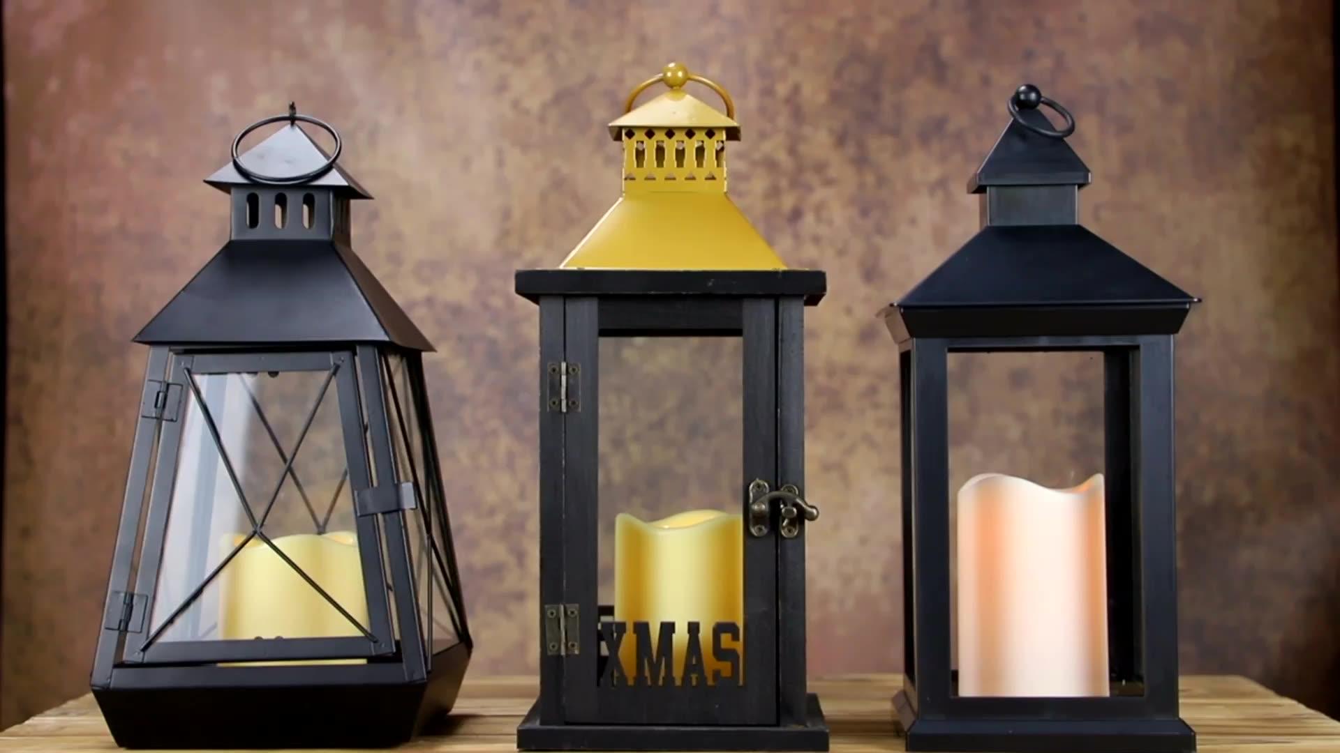 Venda quente Muçulmanos Islâmicos Ramadan Lantern Lanterna Com LED Luzes Da Corda para o Partido Islâmico Árabe Decoração