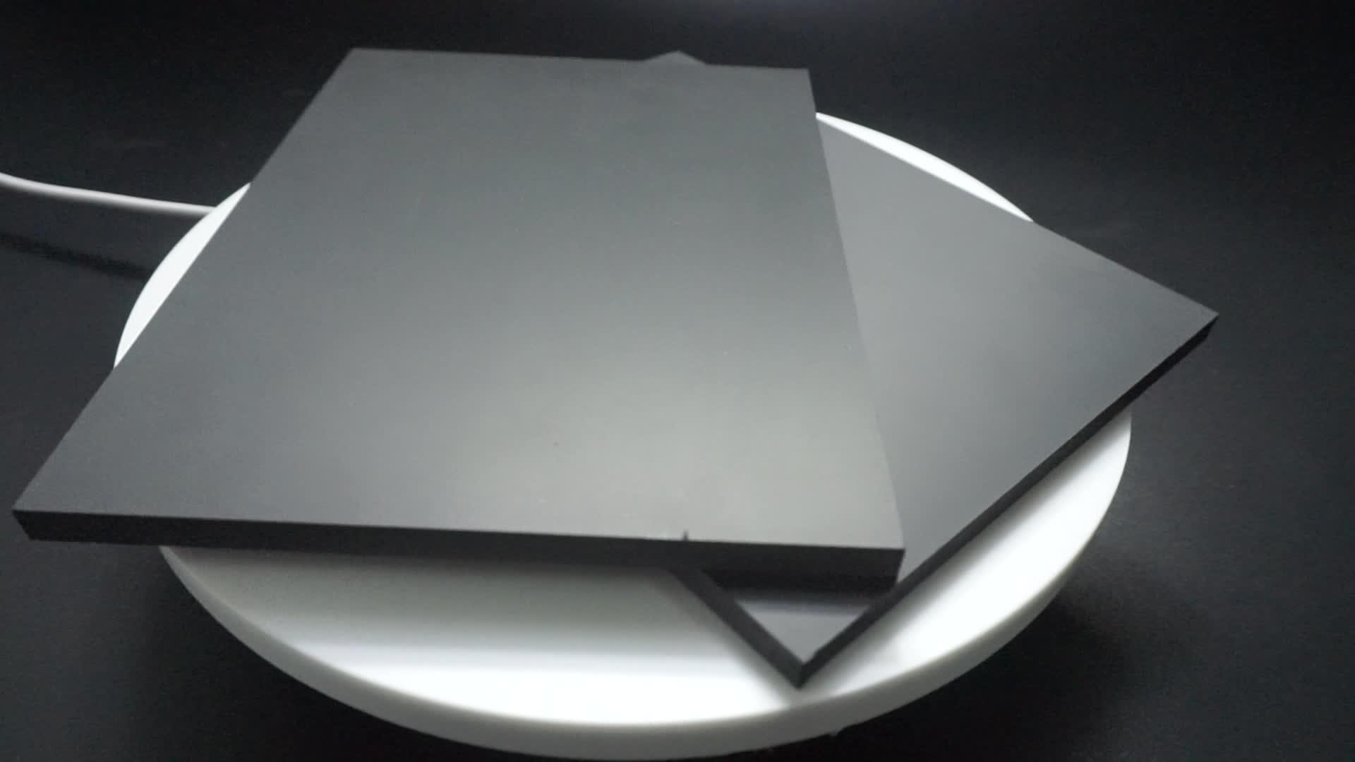 PVC Lakens Wit & Zwart PVC Forex Vel China Plastic