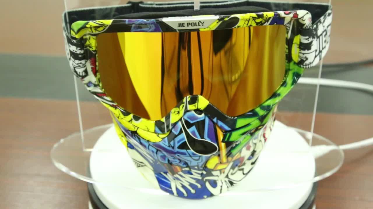 ホット販売オートバイグーグルヘルメットメガネミラーレースモトクロスゴーグルモトクロス男性のための