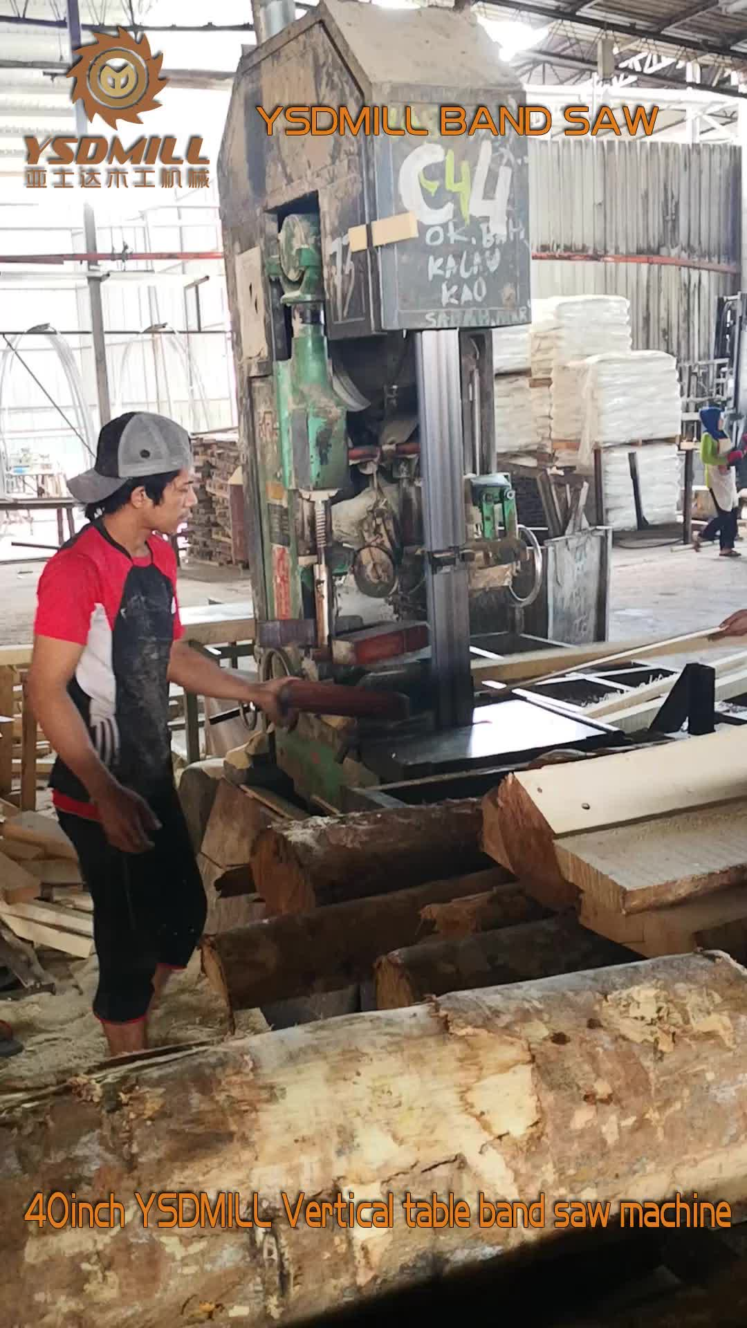 Factory directly supply vertical wood band saw made in china
