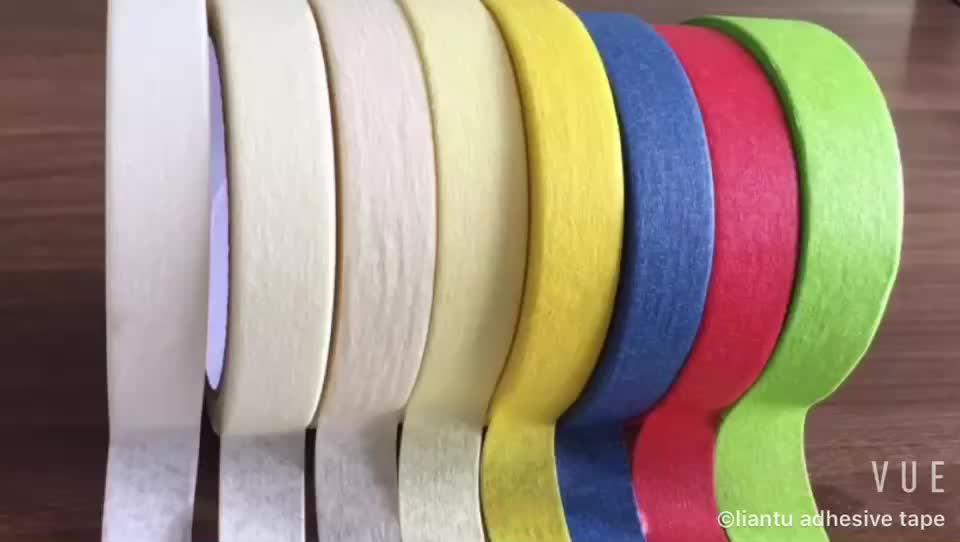 china factory automotive masking tape crepe paper