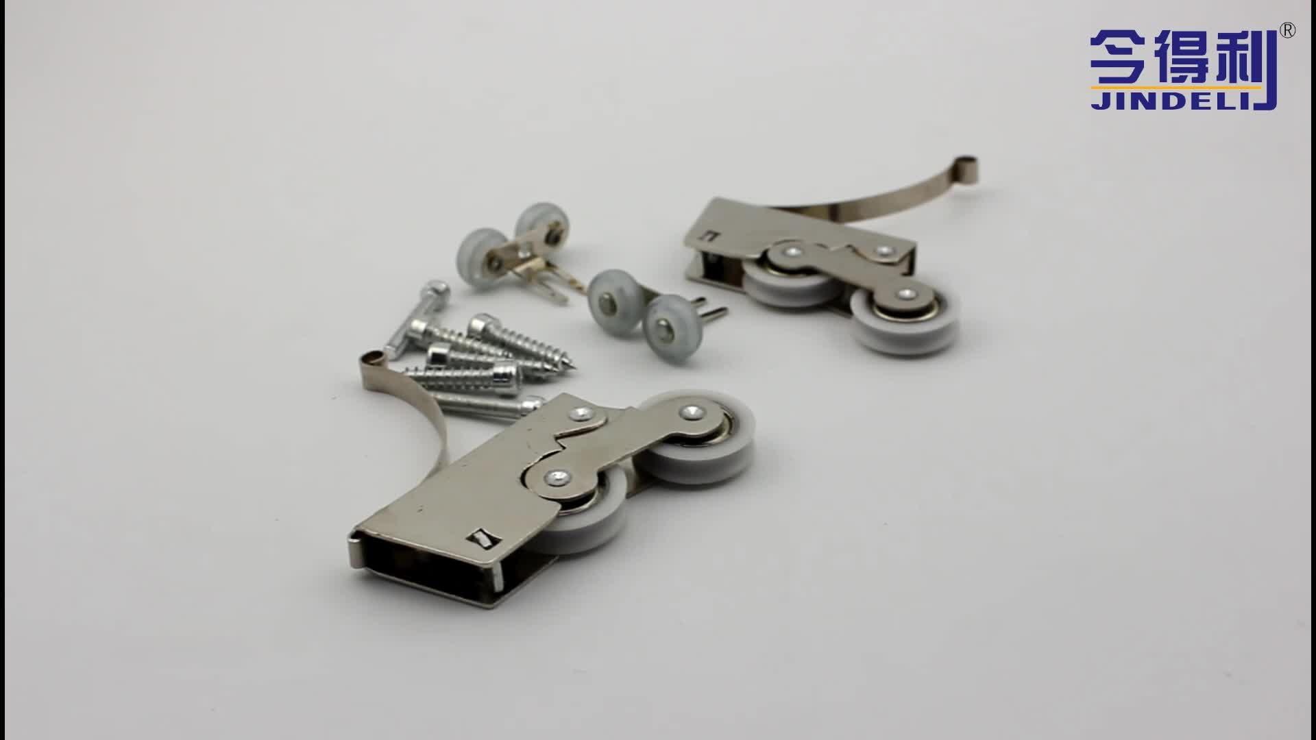furniture hot sale roller bearings bottom roller heavy duty sliding roller sliding door wheels for sale