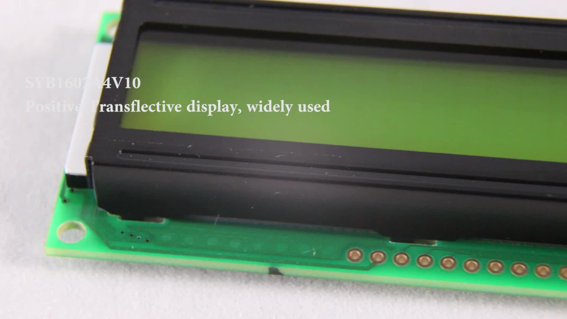 TCC LCD пользовательский 1602 персонаж монохромный модуль экран 16 pin ЖК-дисплей 16x2