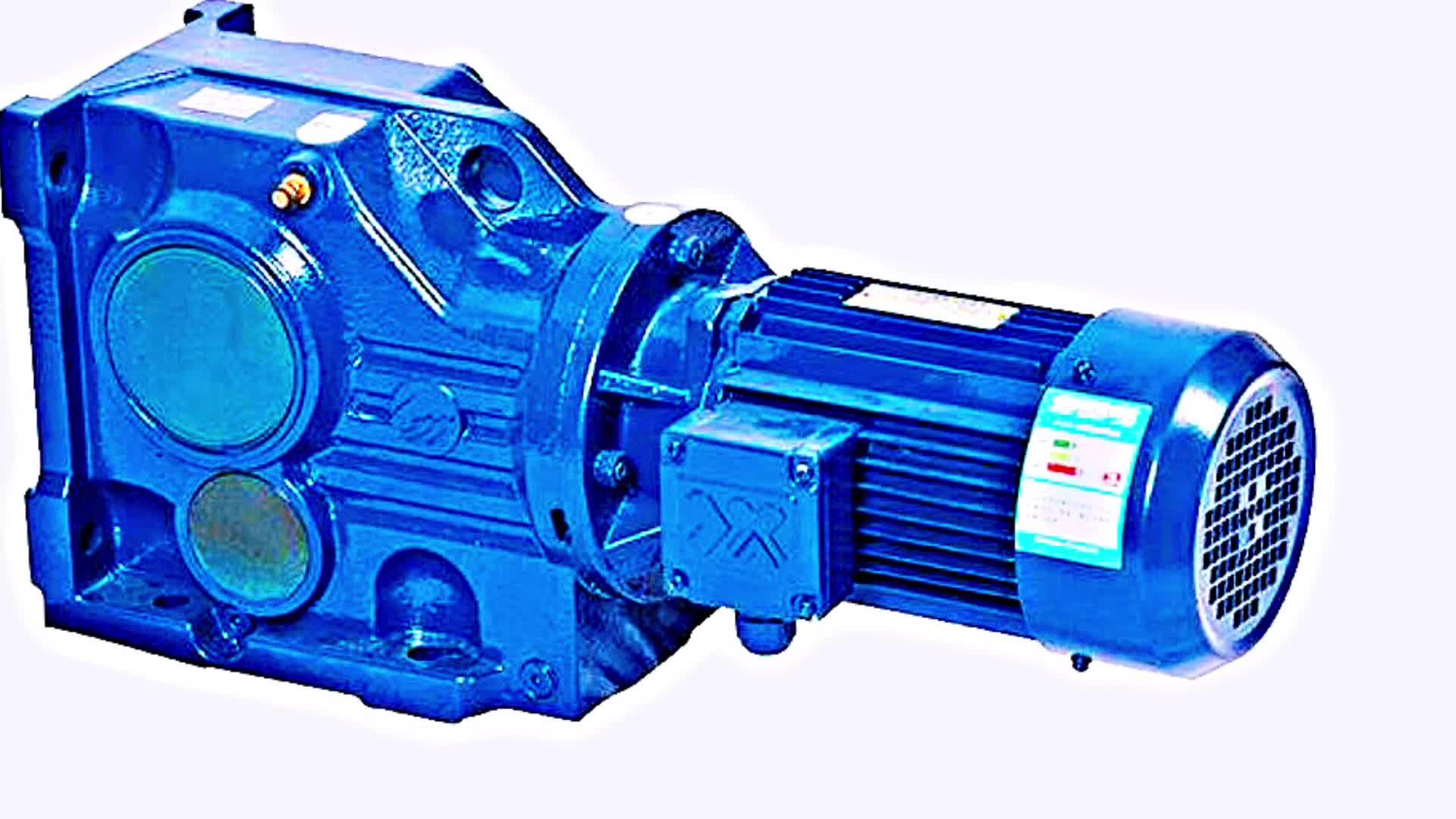 Conveyor belt helical bevel vertical gearbox