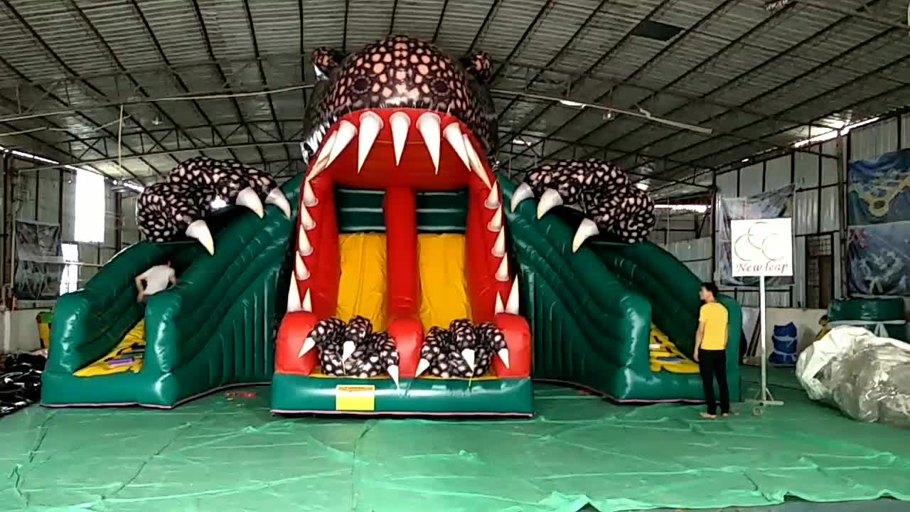 Cartoon Theme Juegos Inflatable Slide,Cheap Inflatable Slide Bouncer For Sale