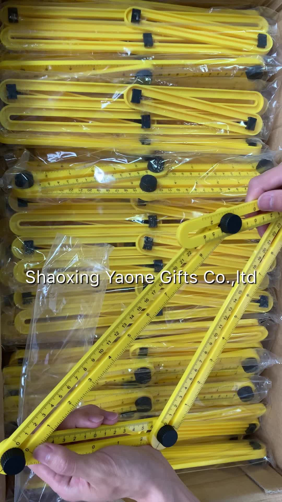 หลายพับ 4 มุมไม้บรรทัดแม่แบบเครื่องมือวัดเครื่องมืออิฐกระเบื้องไม้มุมผลิตภัณฑ์พับไม้บรรทัดไม้โปรแทรกเตอร์