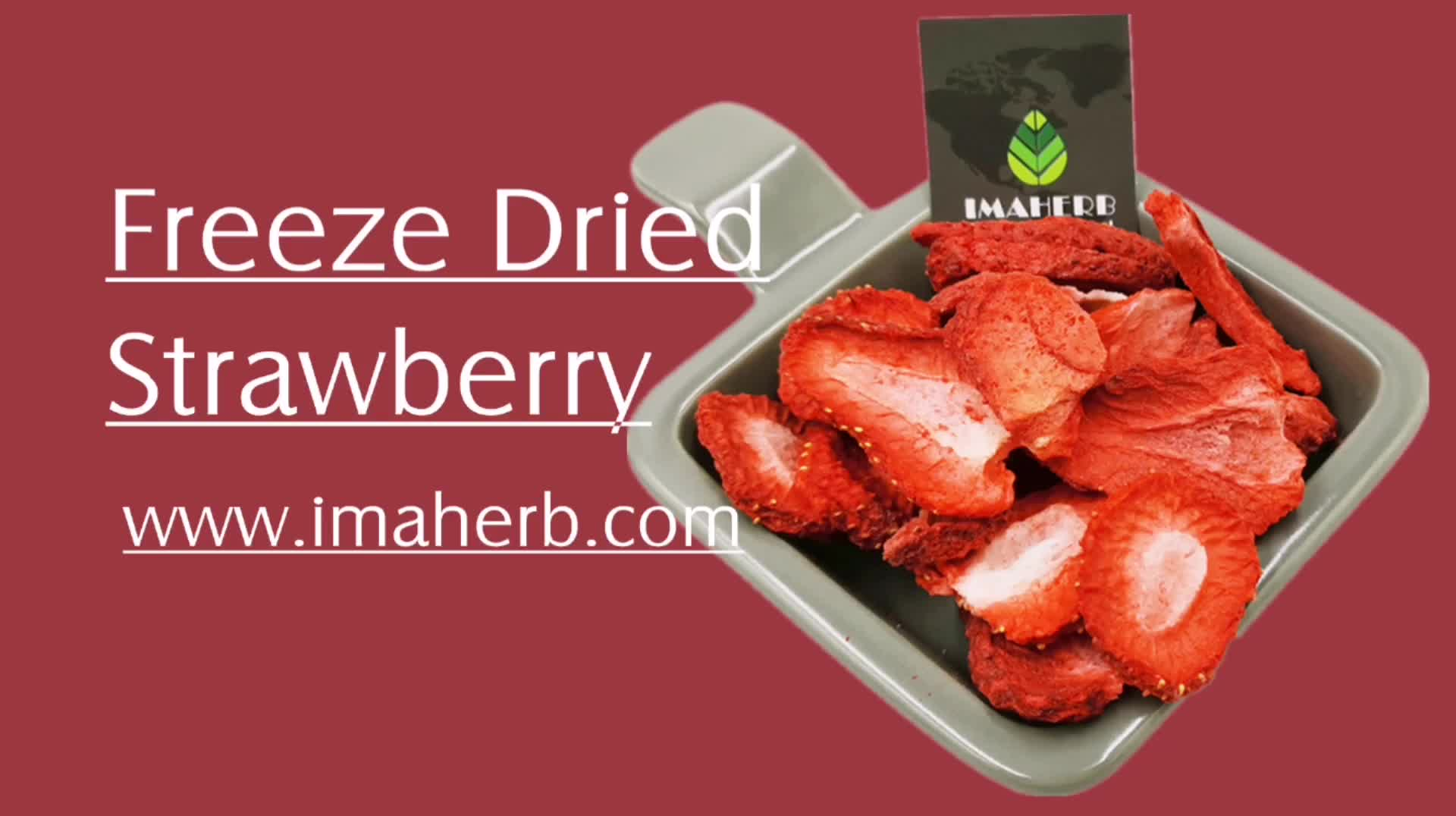 GMP Manufacture supply strawberry extract For Health Product