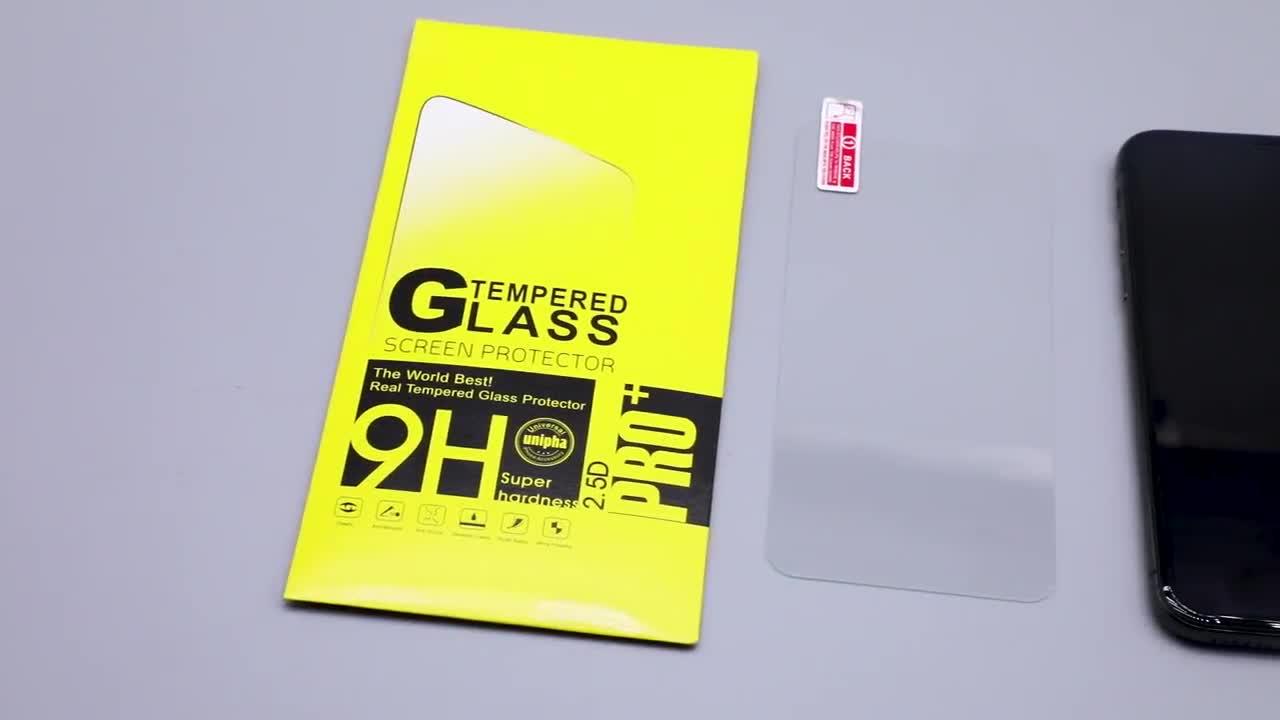 0.3mm 9 H กระจกนิรภัยป้องกันหน้าจอสำหรับ iphone 6 7 8x6.1 6.5 xs สำหรับ galaxy S8 s9 note 9 หมายเหตุ 8