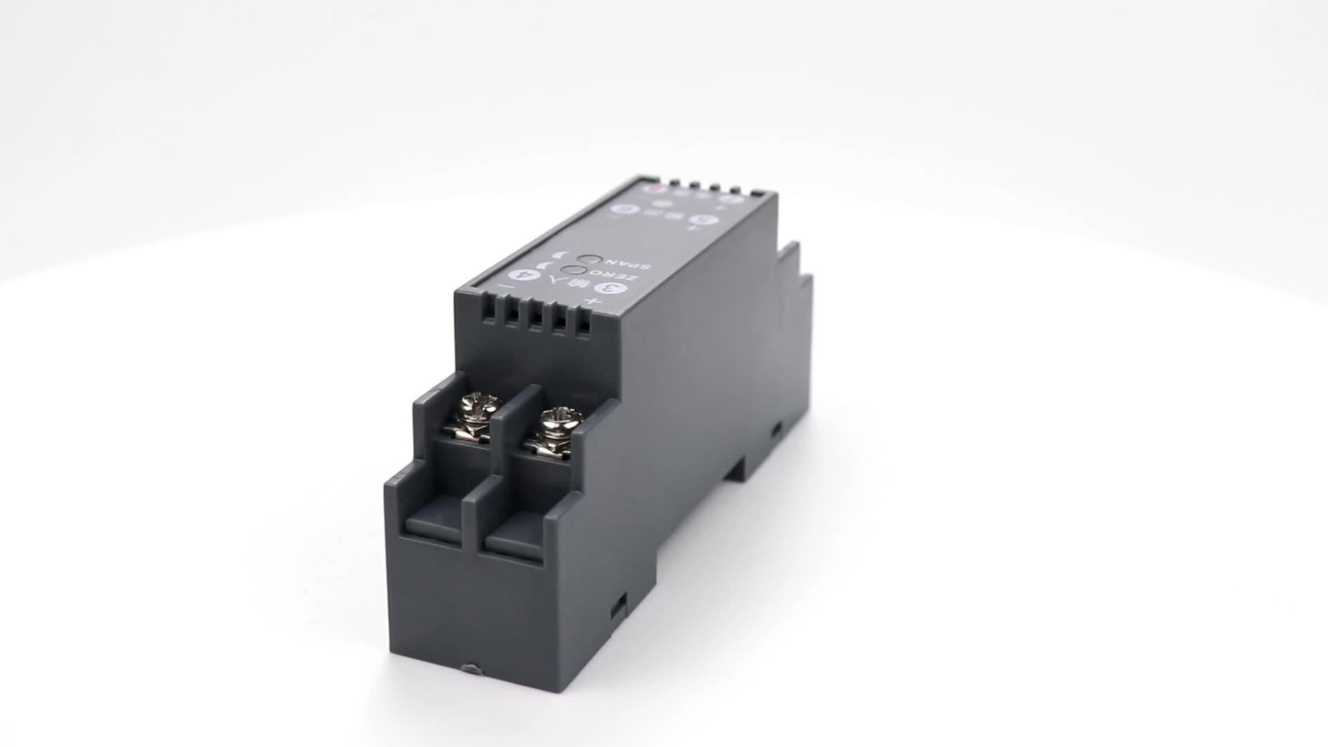 Programmable 0-5v 4-20ma AC current transducers switch