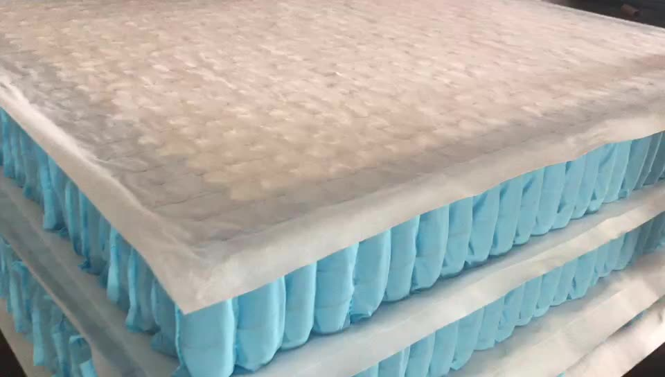 customized all size zone mattress pocket spring interval 7-zone pocket spring unit
