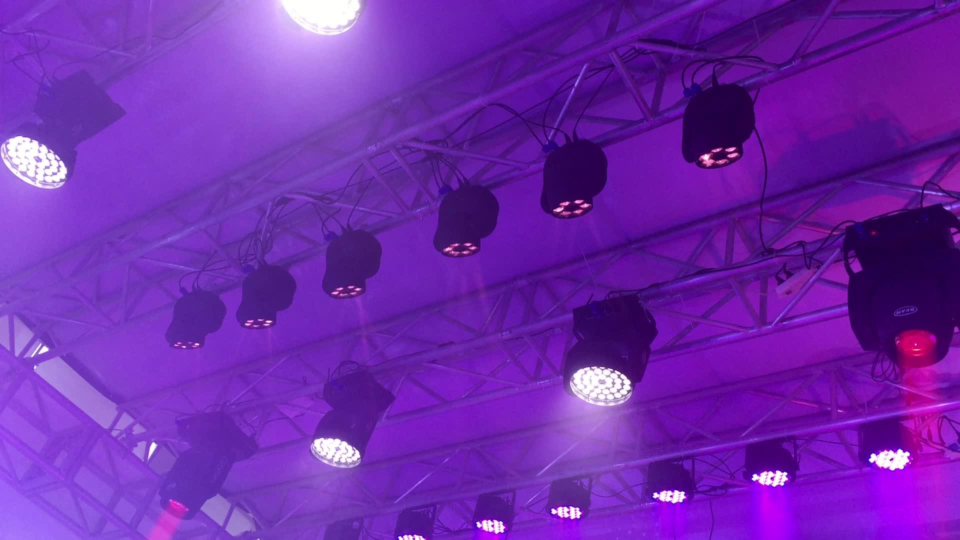 Trung quốc đèn DJ di chuyển đầu 6x10 w mini ong mắt 4in1 RGBW ong mắt cho vũ trường