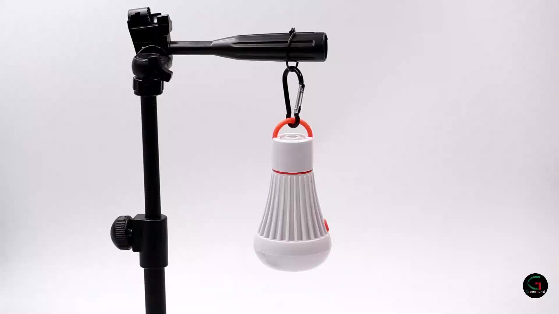 High quality ABS 3xAAA dry battery 1 pcs spotlight+6 pcs floodlight LED camping lantern lamp with magnet and hanging loop
