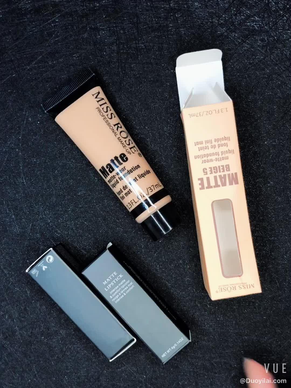 Miss Rose Gloednieuwe Cosmetische Make-up Foundation Crème Vloeibare Voor Vette Huid
