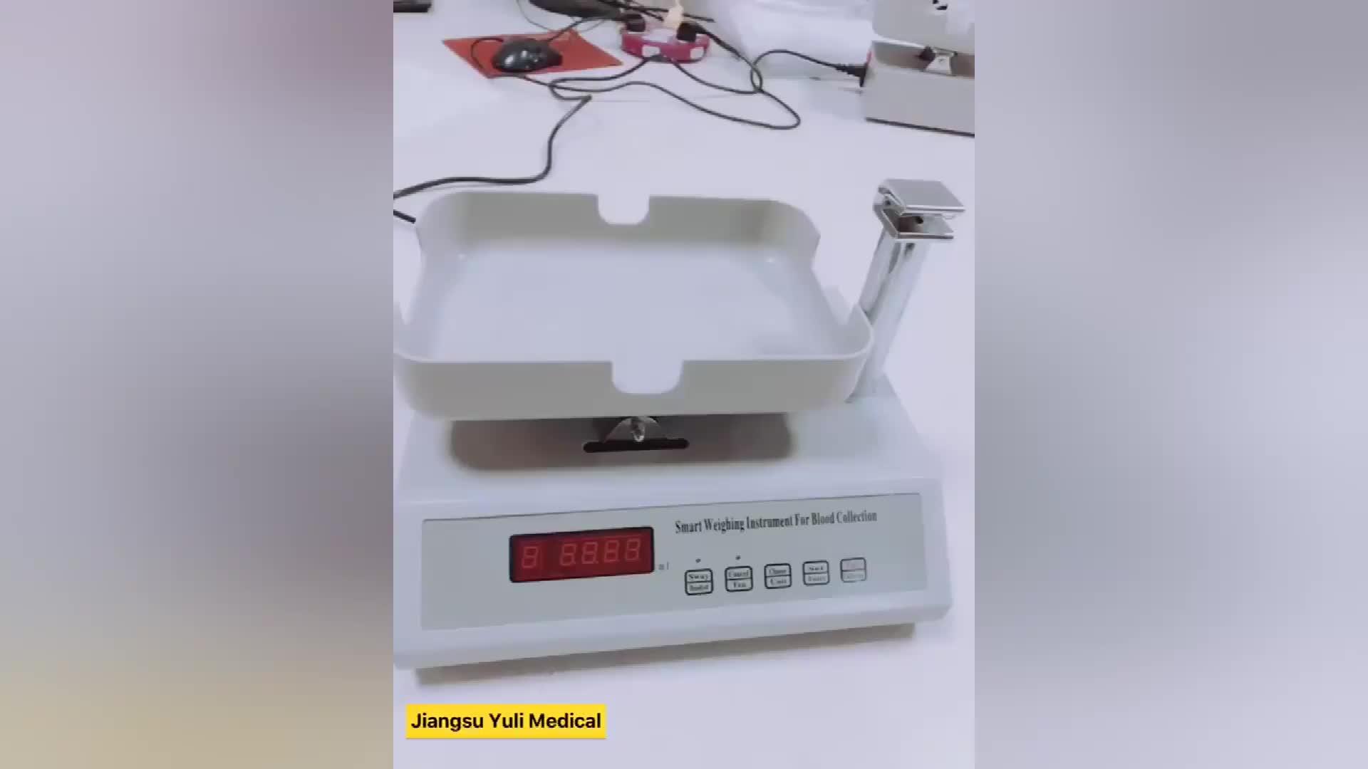 Blutbeutel Skala Krankenhaus Verwenden Balance Blutentnahme Druck Monitor