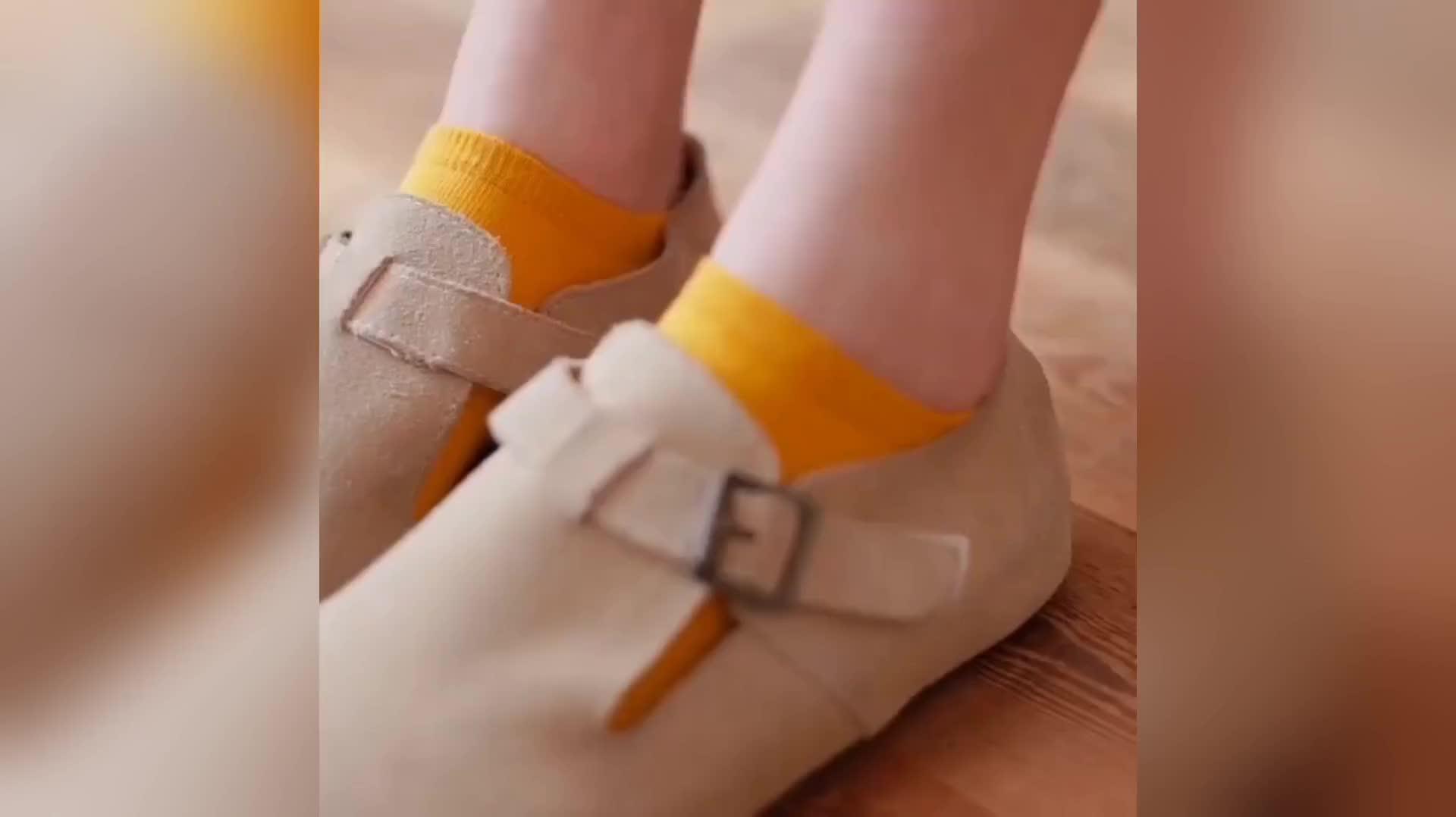 Estanla 女性キャンディカラーのセクシーな足首 Socks12 ペア低カットソリッドカラーパターン綿靴下