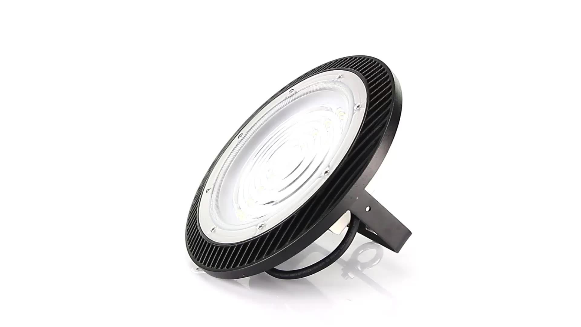 KCD IP65 방수 ce rohs 100w 120w 200w 250w 150w ufo led 높은 베이 빛