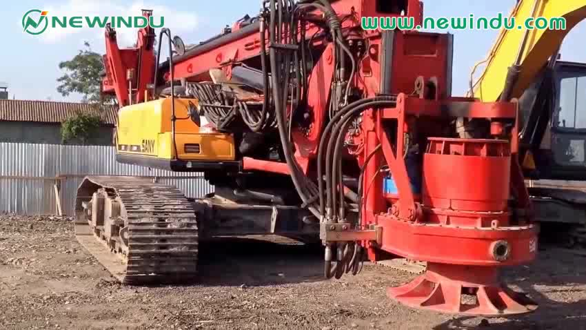 Rotary Drilling Rig SR360RC Crawler Hydraulic Rocking Drilling Rig
