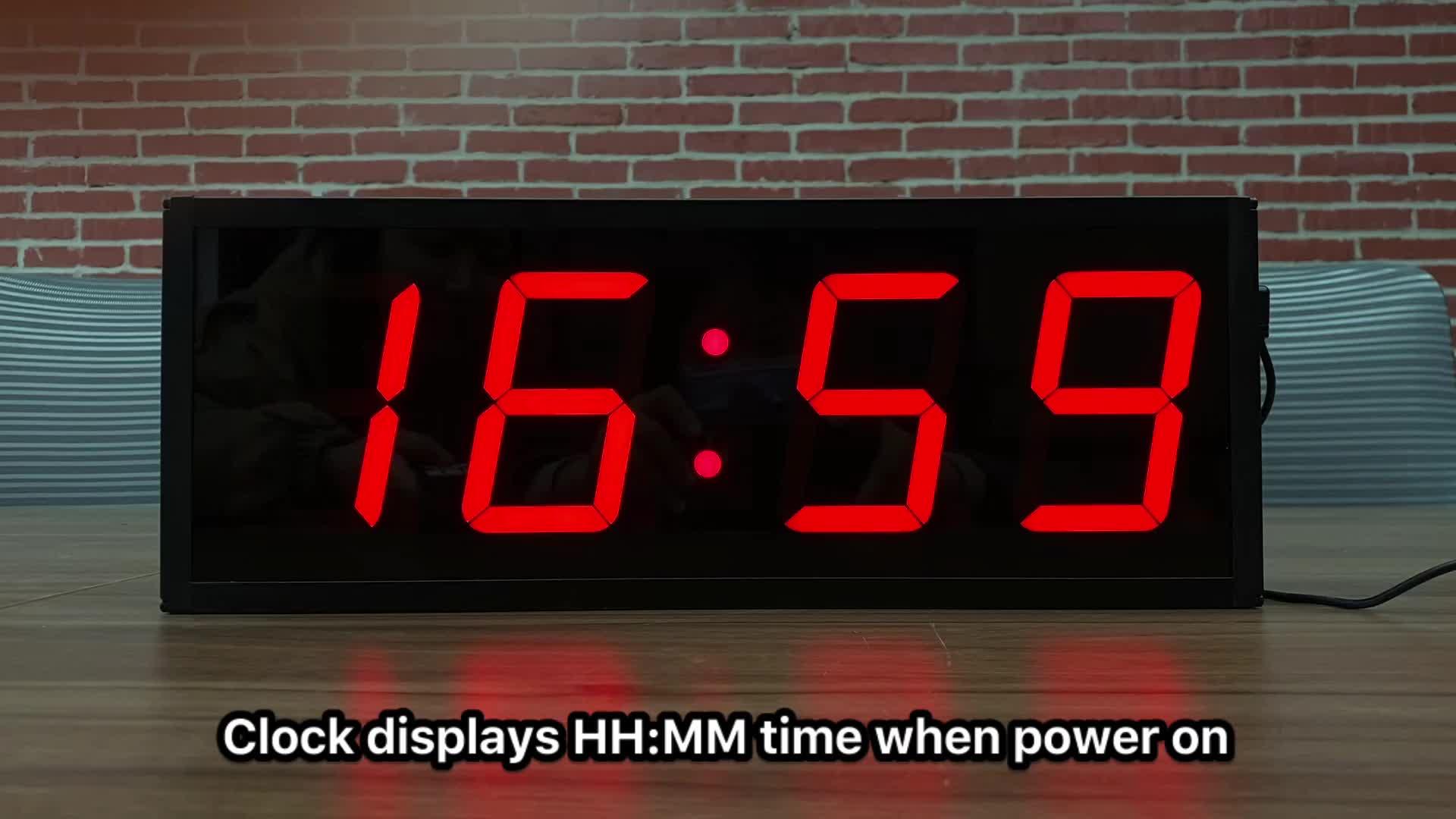 Мульти-функциональные 4 дюйма на 4 цифры по ценам от производителя цифровые часы мы часы обратного отсчета времени СИД цифровой таймер