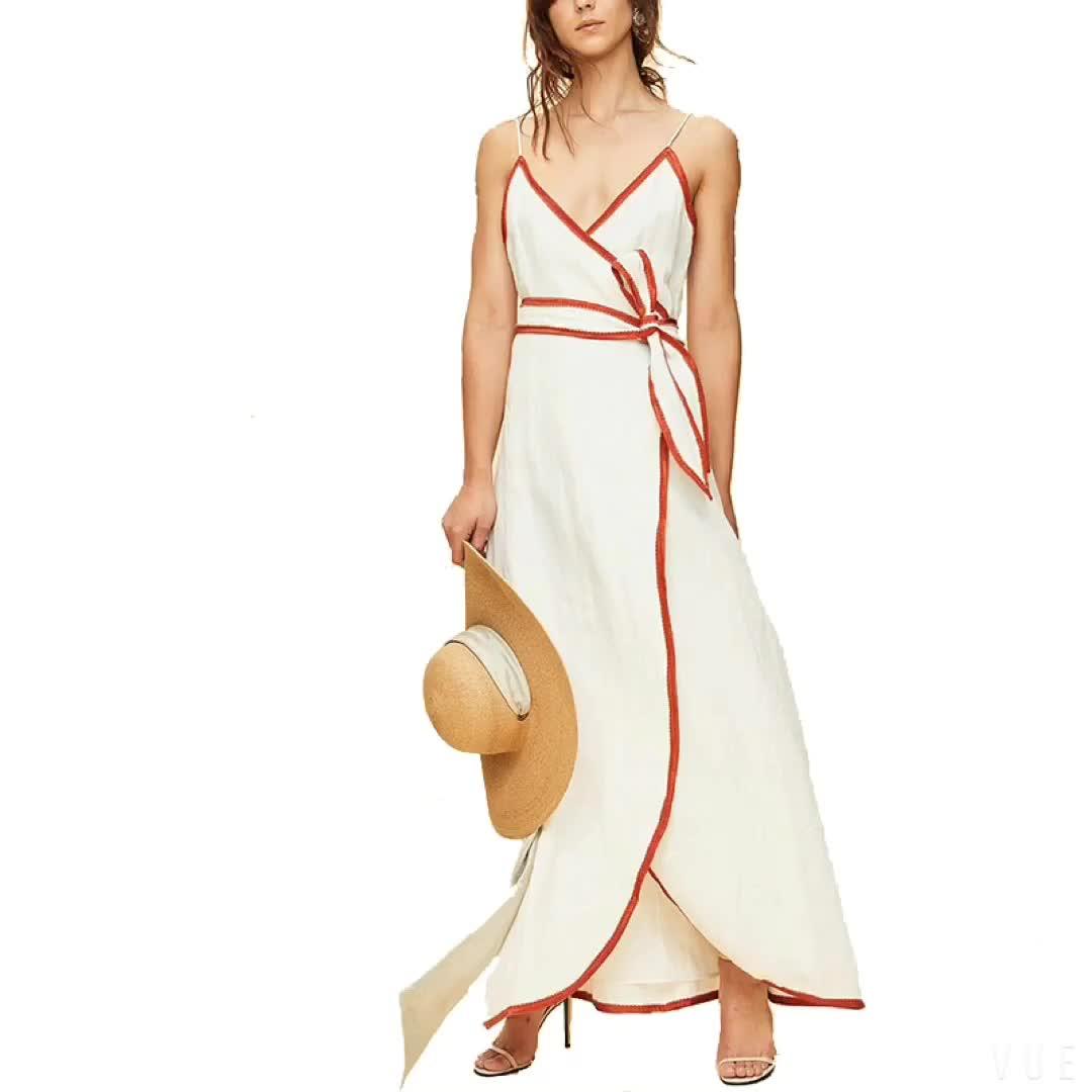 Boho side opening one shoulder plus size kaftan dress beach cover up bohemian clothing