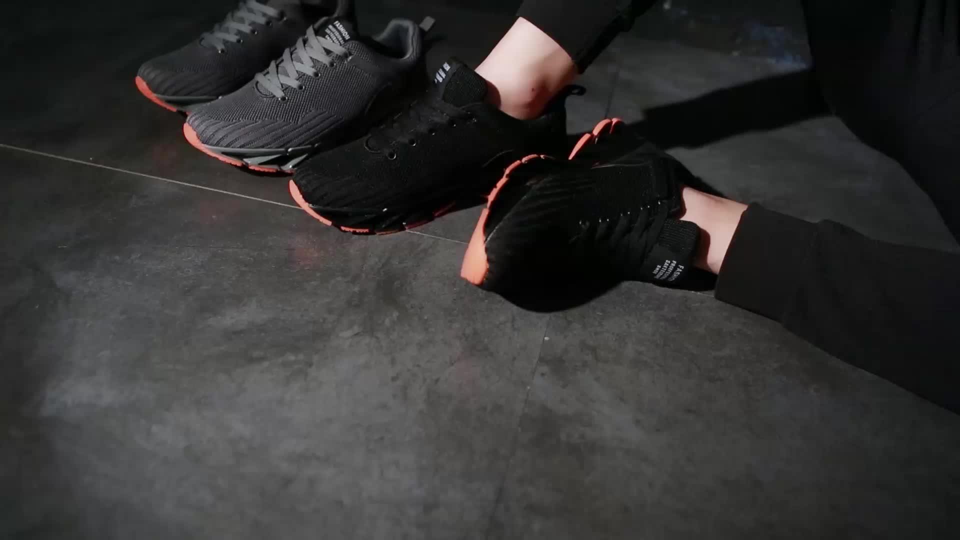 Biểu Tượng Tùy Chỉnh Độc Đáo Lưỡi Bay Dệt Người Đàn Ông Của Giày Thể Thao Giản Dị Sneakers