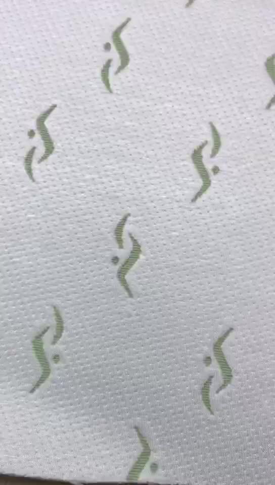 À prova d' água 220gsm Tecido Jacquard Têxteis Laminados de Bambu Atacado
