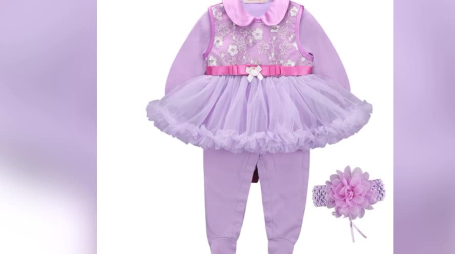 Hot Sellling Baby Girls Cotton Dress New Autumn Girls Dresses Spring Long-sleeved Suit Baby Boutique Clothing