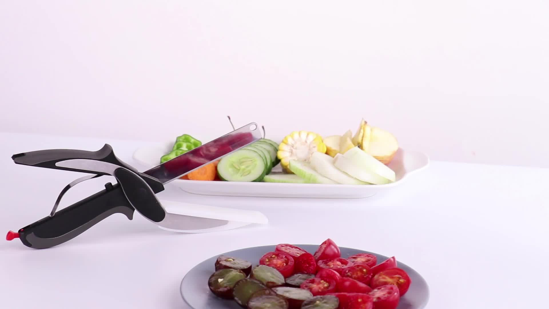 Manual Clever Cutter 2-In-1 Food Chopper  For Home Use