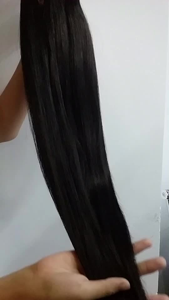 100% virgin สาวจริงหี remy human hair extension