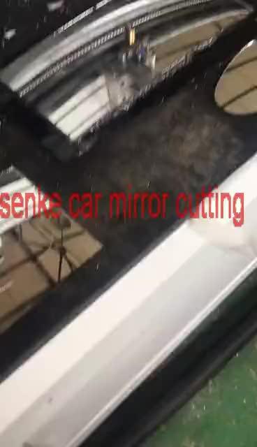 Senke mini cnc ตัดกระจก 600*900 มิลลิเมตรสำหรับขาย