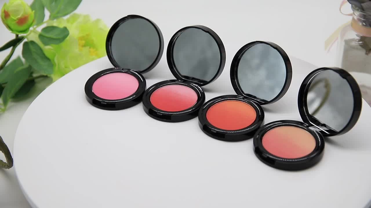 Hot Selling Private Label Cosmetics Powder  Makeup Own Label Blush