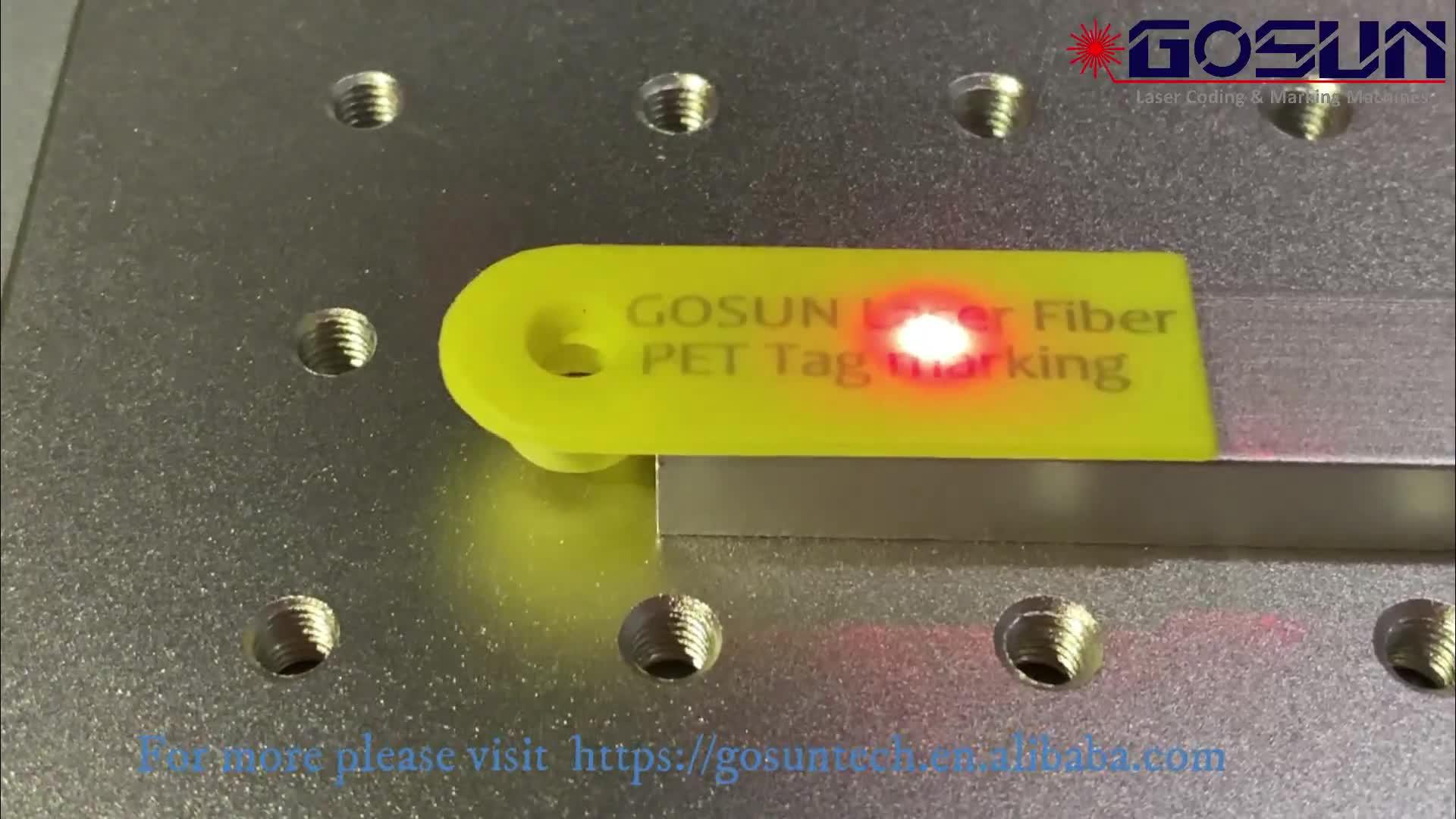 Animal Ear Tag Laser Marking Machine For Sheep Jumbuck