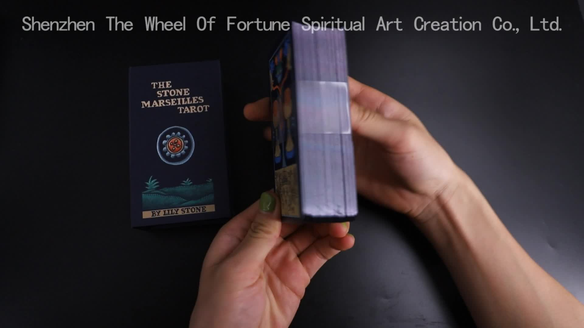 Custom Good Quality Printed Tarot Cards With Book