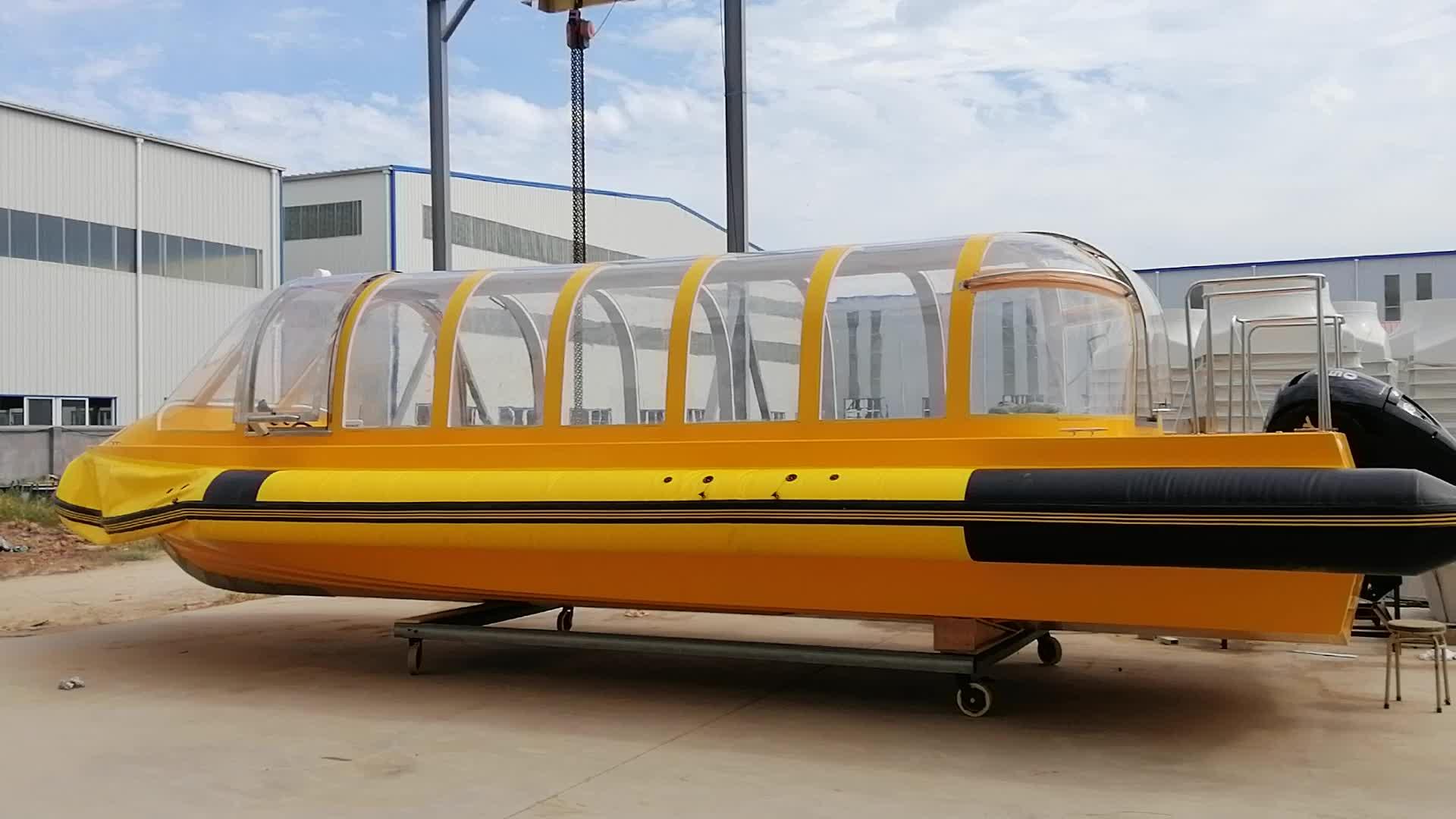 9.68m de Fibra De Vidro do Barco de Passageiros/Táxi Aquático