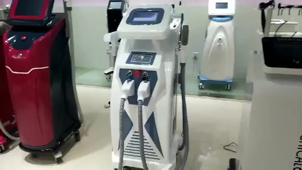 2019 Newest design opt+nd yag +laser + ipl hair removal / ipl laser hair removal beauty equipment