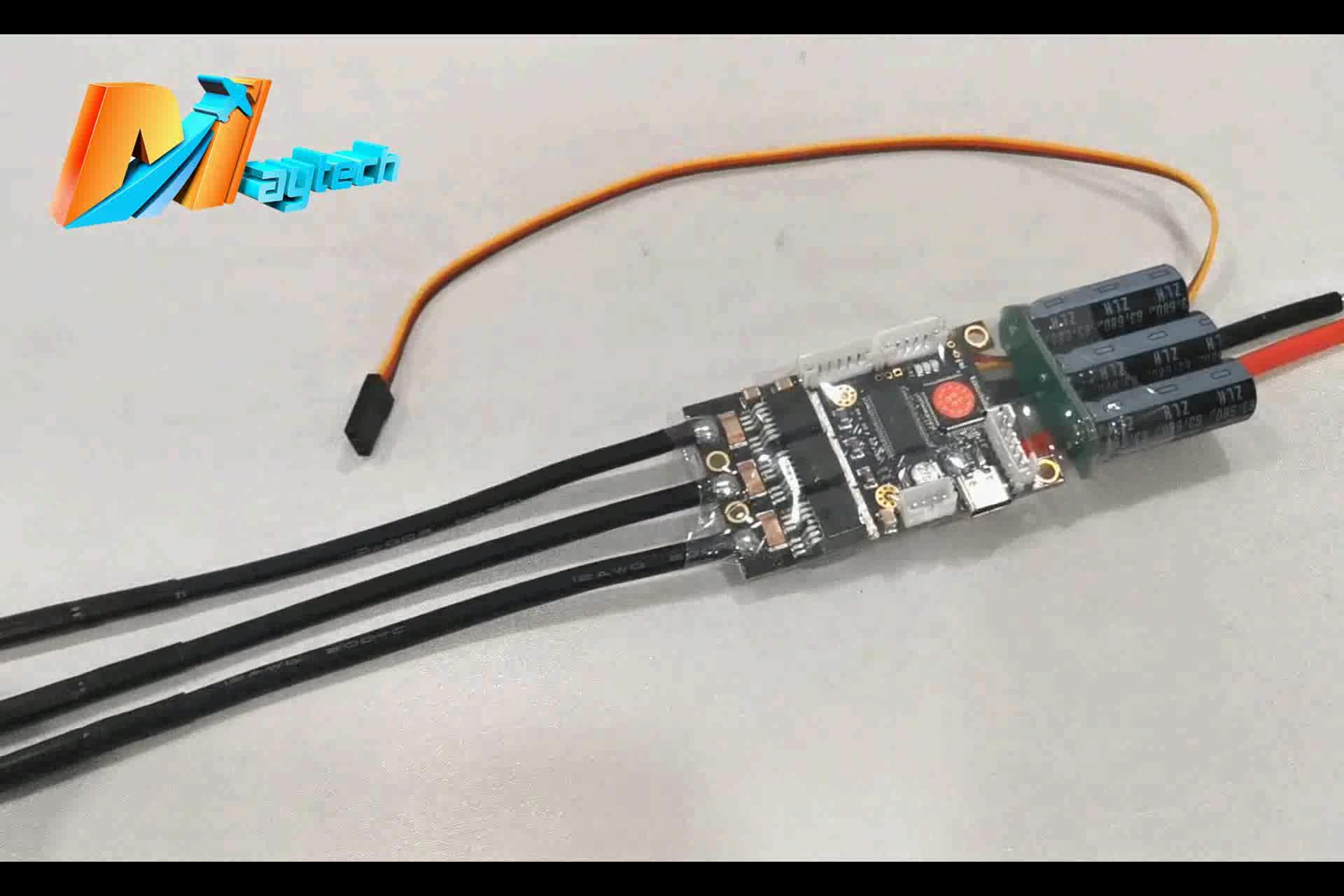 Maytech ใหม่ SuperFOC6.8 FOC ESC 50A ขึ้นอยู่กับ VESC6 สำหรับ longboard ไฟฟ้า DIY สเก็ตบอร์ดหุ่นยนต์หุ่นยนต์ต่อสู้