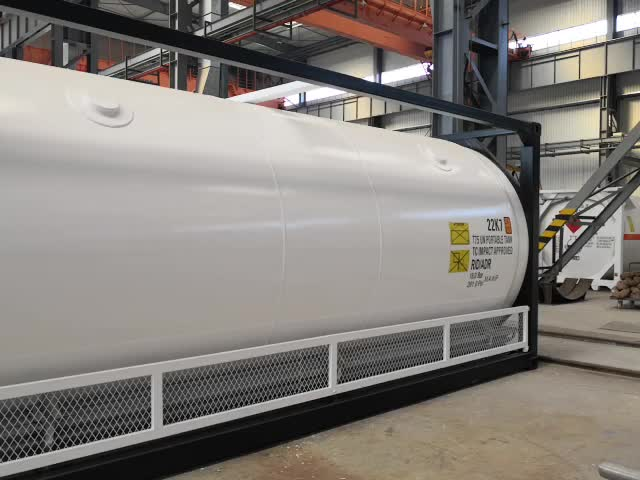 Vloeibare Gas LNG/CO2/N2/O2/Ammoniak Tank Vervoer Lng Container