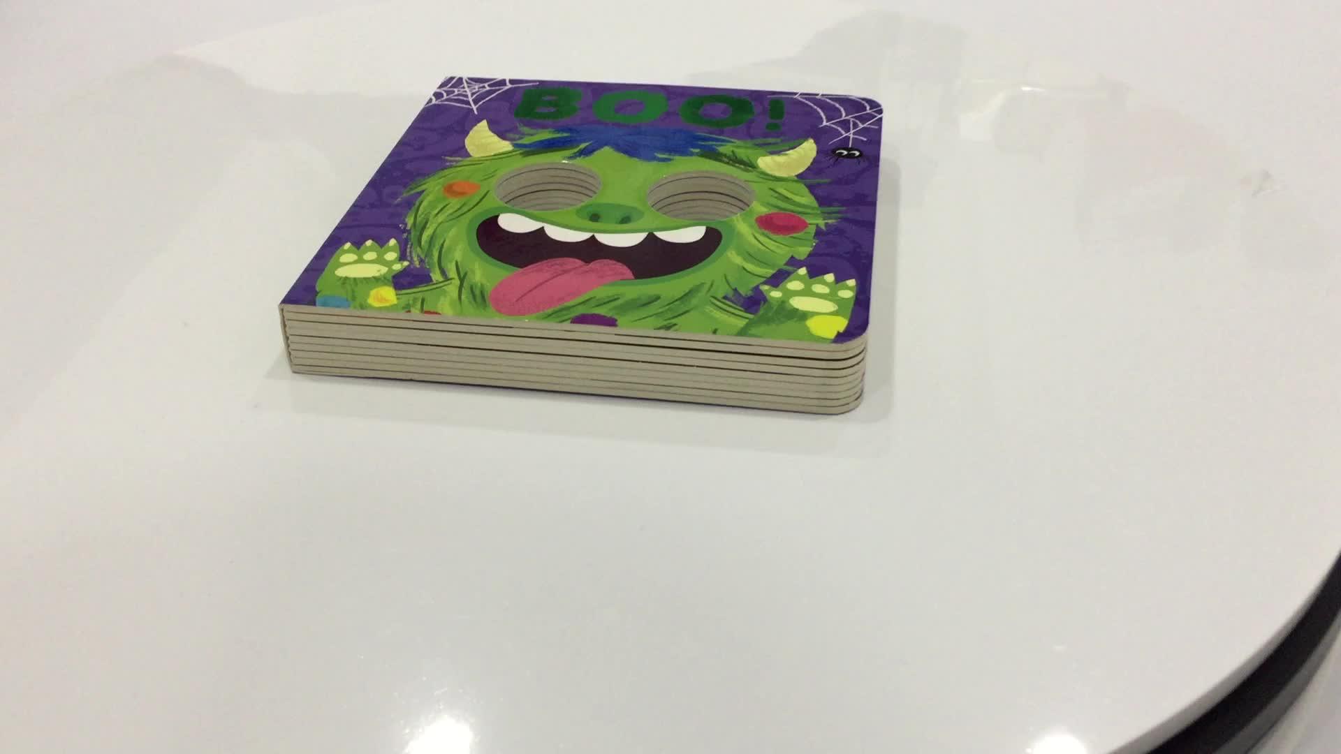 Детская книга принтер пользовательские полный цвет печати Pop Up детей деятельности доска книга печать