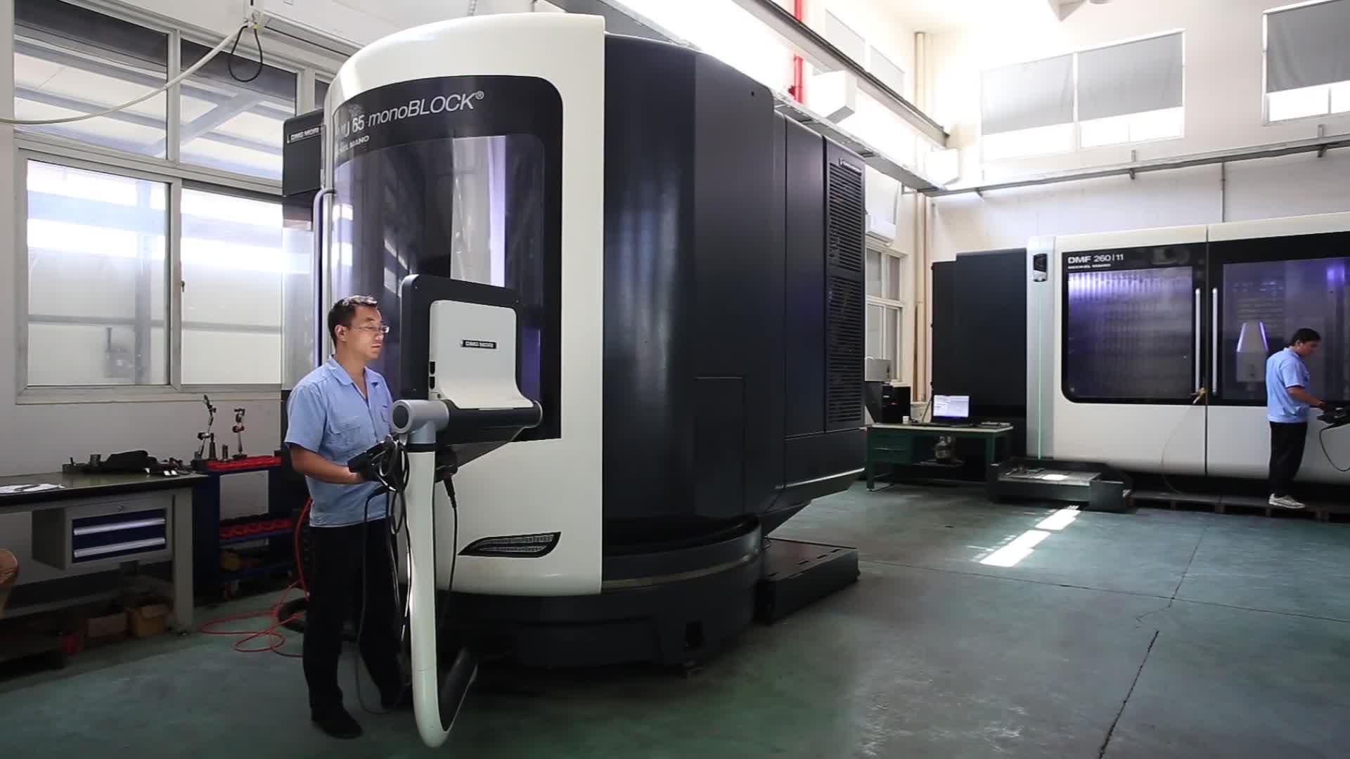 5 แกนหมุนเครื่องจักร Rapid CNC บริการต้นแบบ