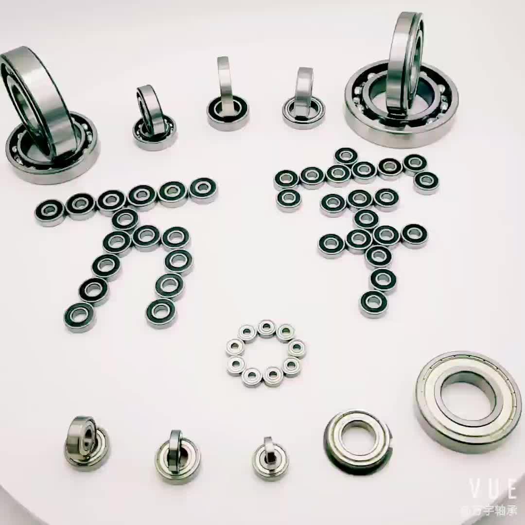 6204 rolamento de Esferas Profundo do sulco Rolamento 6204 ZZ para Custom 20*47*14mm