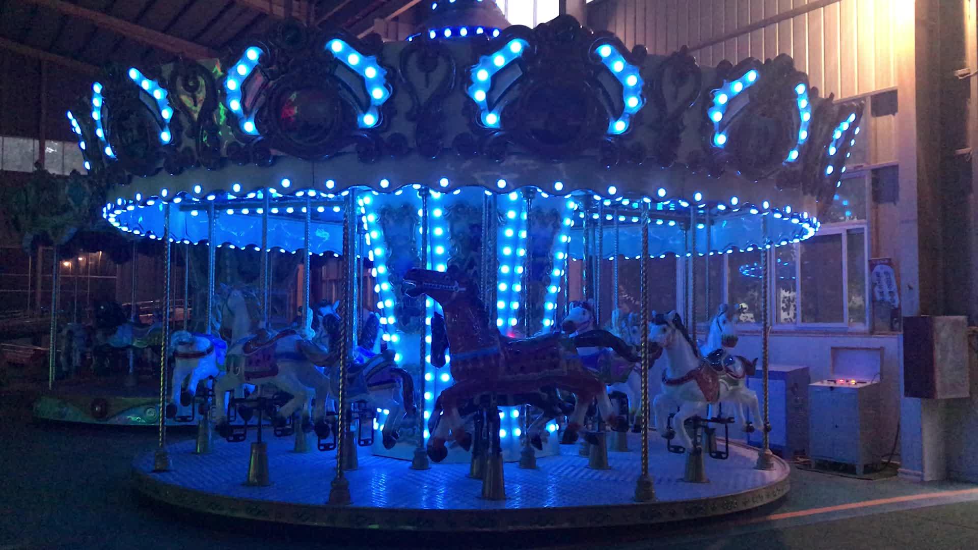 Luna park cavalos do carrossel/merry go round para venda