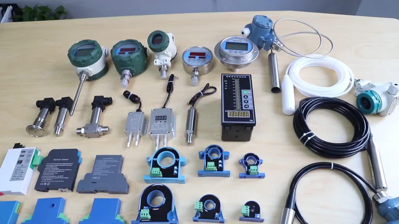 QDY60C 4-20mA Dizel Yakıt Tankı Seviye Sensörü Yakıt Yağ Tankı Seviye Sensörü Korozif Sıvı Seviyesi Verici