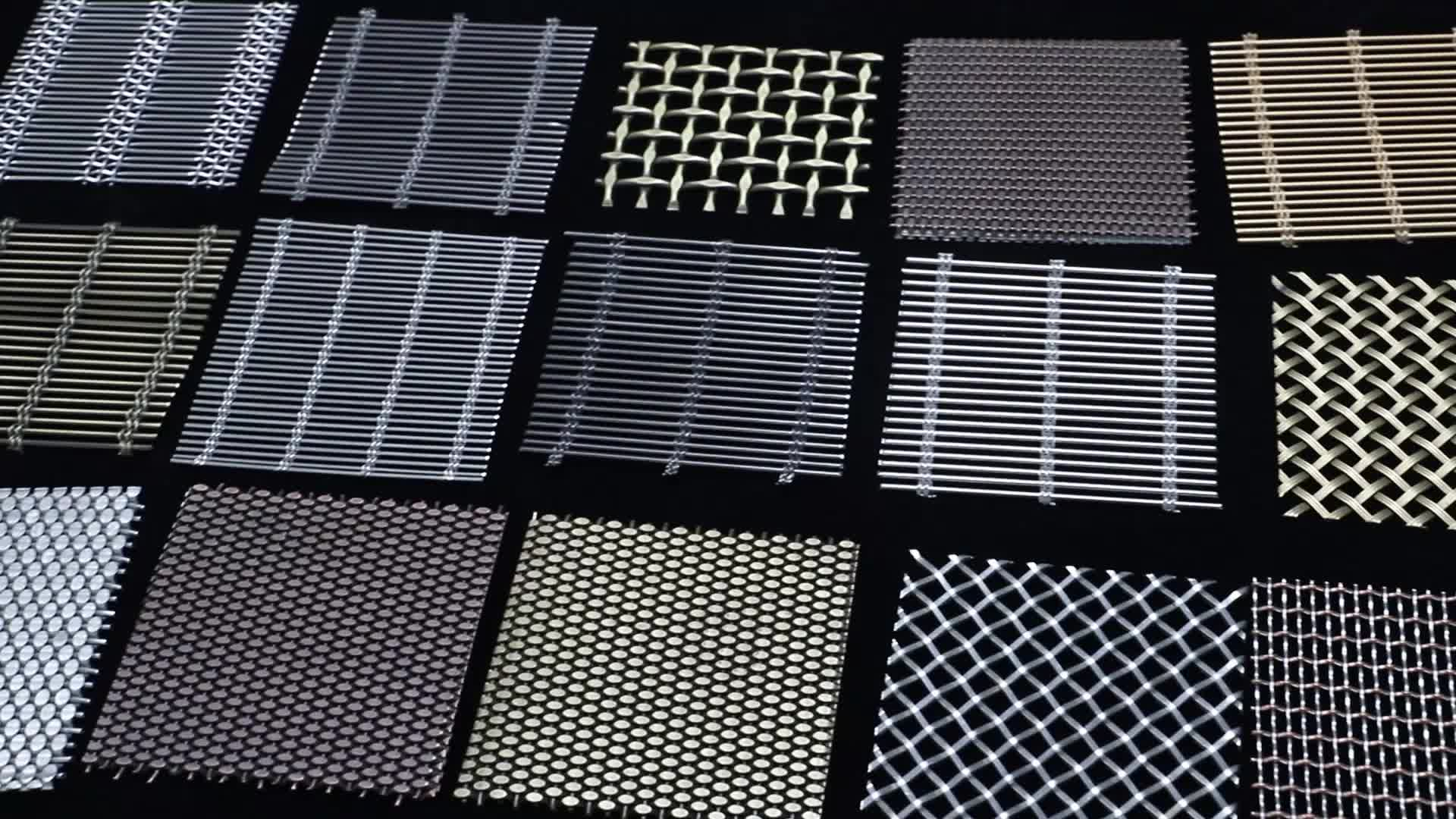 Building Facade Decorative stretched aluminum expanded metal mesh
