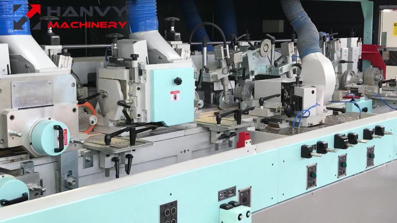 Ad alta Velocità 6 Mandrino Quattro Lati Formatrice Pialla Macchina DL4006